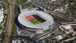 Arsenal FC - Aerial view of the Emirates Stadium