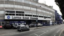 Queens Park Rangers FC - Approaching Loftus Road stadium from South Africa Road